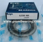 KOYO 6208NR Deep Groove Ball Bearing|KOYO 6208NR Deep Groove Ball BearingManufacturer